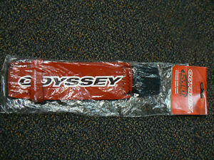 nos odyssey gyro cover f cable detangler red black vintage ebay. Black Bedroom Furniture Sets. Home Design Ideas
