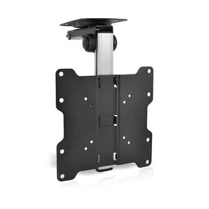 New-Pyle-PCMTV25-Universal-Folding-Hide-Away-TV-Ceiling-Mount-Fit-17-034-37-034-TVs