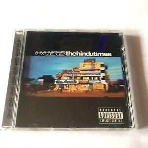 OASIS-THE-HINDU-TIMES-DVD-cd-single-UK-Noel-Liam-Gallagher