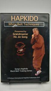 Hapkido-White-Belt-Technique-DVD