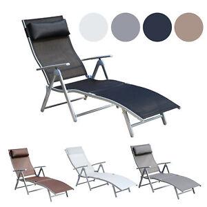 Image Is Loading Chaise Lounge Chair Folding Pool Beach Yard Adjustable