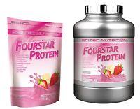 Scitec Nutrition Fourstar Protein 500g 2000g Molke, Casein, Milch, Ei Protein