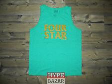 FOURSTAR CLOTHING CO   TANK TOP NEU FARBE:GREEN HEATHER GR:L 4 STAR x ANTI-HERO