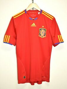 VINTAGE 2010 WORLD CUP SPAIN ADIDAS FOOTBALL SOCCER SHIRT JERSEY TRICOT size M
