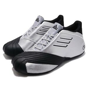 c86decfe5fdf adidas TMAC 1 I Tracy McGrady All Star Silver Black Men Shoes ...