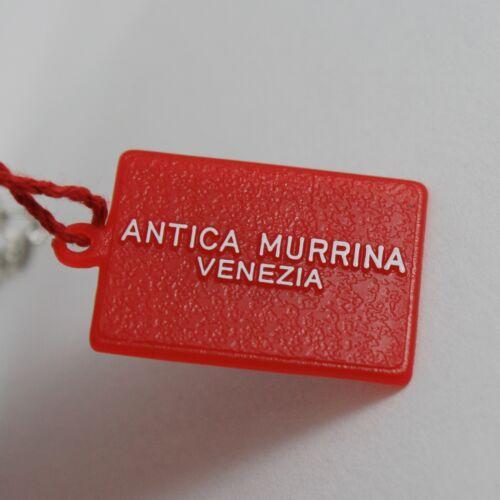 ANTICA MURRINA VENEZIA GRAY SPHERE BALL 15 MM NECKLACE 20 INCHES 50 CM