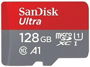 SANDISK Ultra Micro-SD, Micro-SDXC , 128 GB, 100 MB/s  Class 10 A1 Speicherkarte