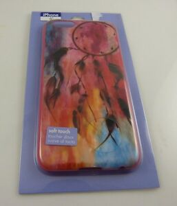 fits-iPhone-6-phone-case-Dream-catcher-pinks-reds-blue-black