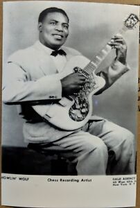 CHICAGO-BLUES-publicity-photo-HOWLIN-WOLF-Chess-Recording-Artist-reprint-4x6