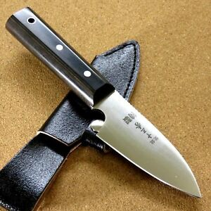 Japanese-Camping-Knife-3-7-034-Right-handed-Hunting-Outdoor-Survival-Sheath-JAPAN