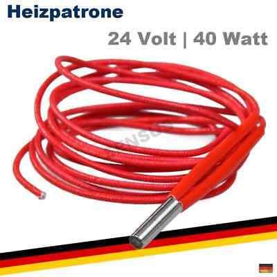 Heizpatrone 12//24V 30W max 40W Hotend Reprap Bett-Heizung für 3D Drucker