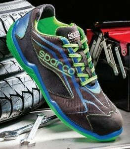 Scarpe Antinfortunistica lavoro Sparco Touring low S1 mechanic shoes meccanico