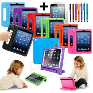 Kids-Shock-Proof-Foam-Case-Handle-Cover-Stand-for-iPad-Mini-2-3-4-Air-Pro-12-9