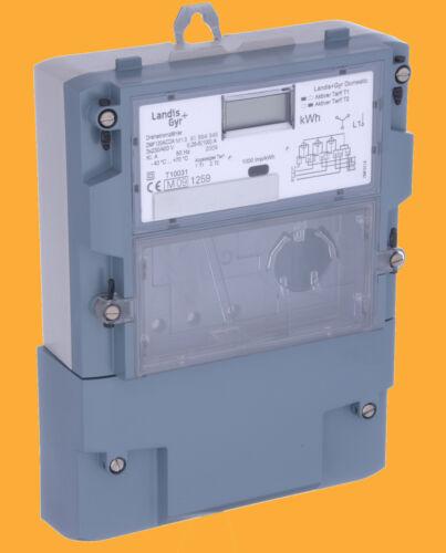 Landis Gyr ZFM 12 ACDA m13 digitraler triphasé compteur 5//100 a 230//400 V
