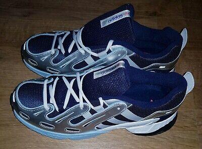 Mens brand new authentic adidas EQT Gazelle Trainers Blue/silver/black sz11   eBay