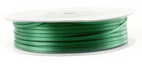 0,20 €//m 10m satén banda 2 mm de ancho de doble cara