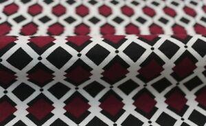 bde78067dd6 Image is loading Admirable-Geometric-Shapes-Viscose-Elastane-Jersey-Dress- Fabric-