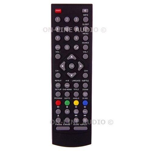 Neuf Véritable alba AELKDVD2288 TV Télécommande