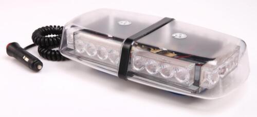 12V Amber LED Flashing beacon magnetic base recovery Warrior Mini Light Bar