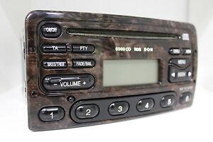 Original-Ford-6000CD-RDS-EON-Wurzelholz-6000-CD-Radio-97AP-18C815-HA-Autoradio