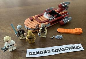 Lego Star Wars Luke S Landspeeder 75173 Retired Loose Complete Ebay Ones that lived in beggar's canyon, ones that lived in the jundland wastes, and swamp womp rats. ebay