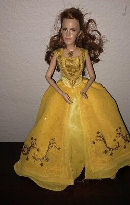 Disney Store London Beauty And The Beast Live Action Belle Doll 12