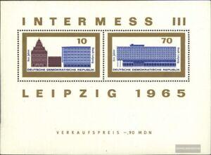 DDR-Block23-postfrisch-1965-Internat-Briefmarkenausstellung