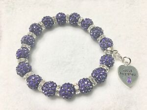 Image Is Loading 12mm Lupus Awareness Bracelet