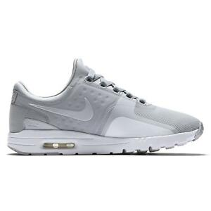 2ab3898eff49 Image is loading Womens-NIKE-AIR-MAX-ZERO-Wolf-Grey-Trainers-