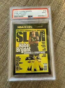 NBA Hoops Kobe Bryant slam gold holo PSA 9 POP 1!