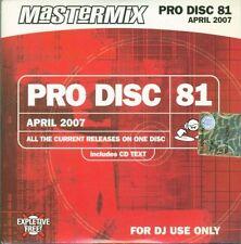 Pro Disc Mastermix 81 - Mika/Amy Winehouse/Timberlake/Alex Gaudino Cd Sigillato