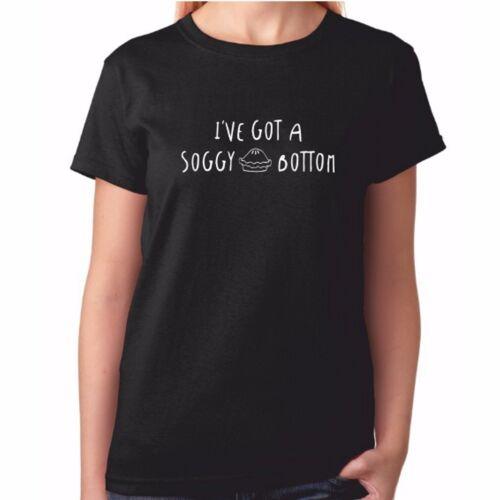 Baking Cooking Gift Idea Ladies SOGGY BOTTOM TShirt Great T Shirt Bake Off