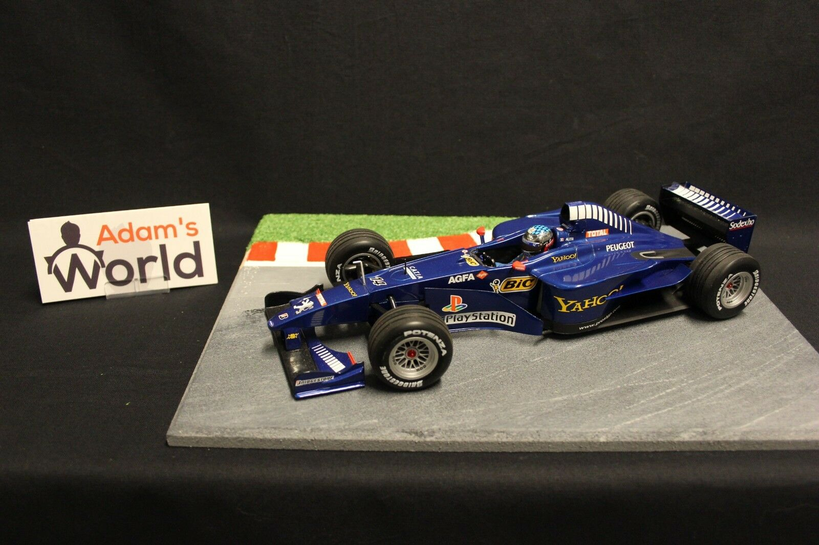 Minichamps Prost Peugeot AP03 2000 1 18  14 Jean Alesi (FRA) (F1NB)