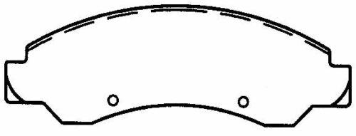 SCD1092 FRONT Ceramic Brake Pads Fits 05-07 Chevrolet Silverado 1500