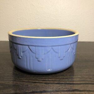 Vintage-Blue-Stoneware-Pottery-Mixing-Bowl-7-5-034