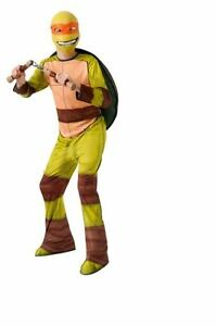 TEENAGE-MUTANT-NINJA-TURTLES-MICHELANGELO-BOYS-COSTUME-SIZE-LARGE-12-14-NEW