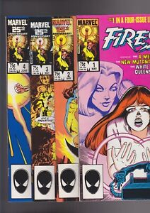 Firestar-1-4-1983-Marvel-Comics-Full-set-4-issue-mini-series-nice-VF-NM