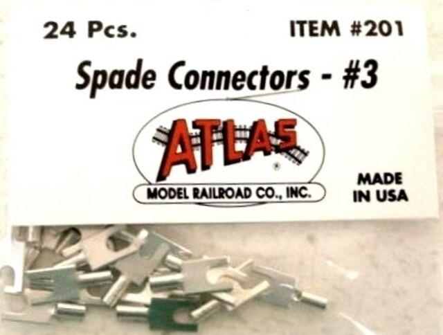 atlas ho spade wire connectors 3 erless conductor ends train atlas ho spade wire connectors 3 erless conductor ends train track 201