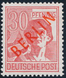 BERLIN-1949-MiNr-28-II-tadellos-postfrisch-gepr-Schlegel-Mi-350