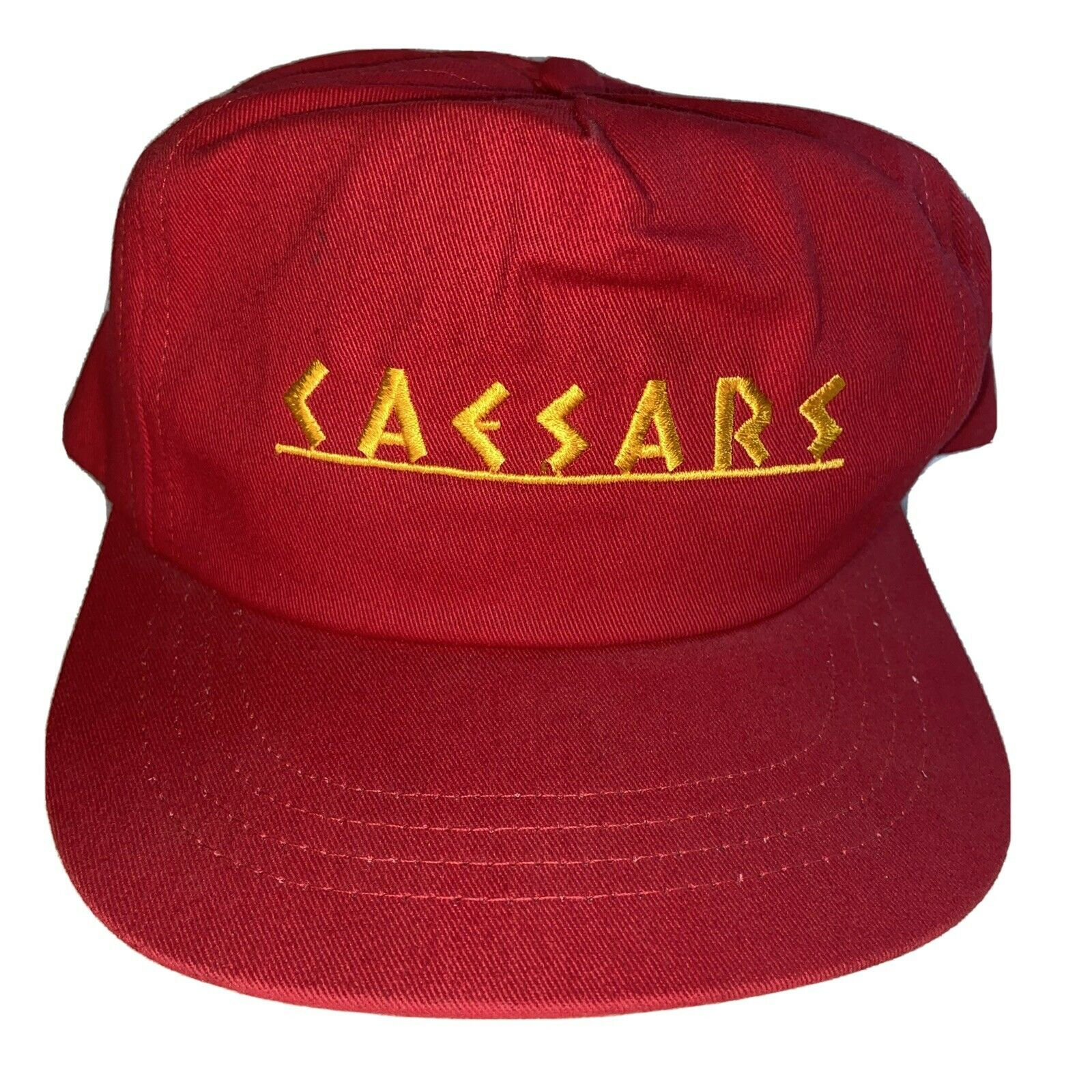 New EXCALIBUR Casino Las Vegas Poker Baseball Cap// Hat Black /& Gold 100/% Cotton