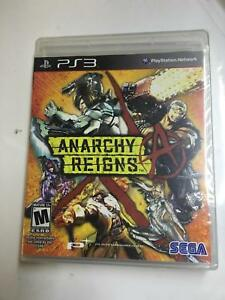 5x Anarchy Reigns Sony PlayStation 3 - PS3 - Factory Sealed NEW 5 games