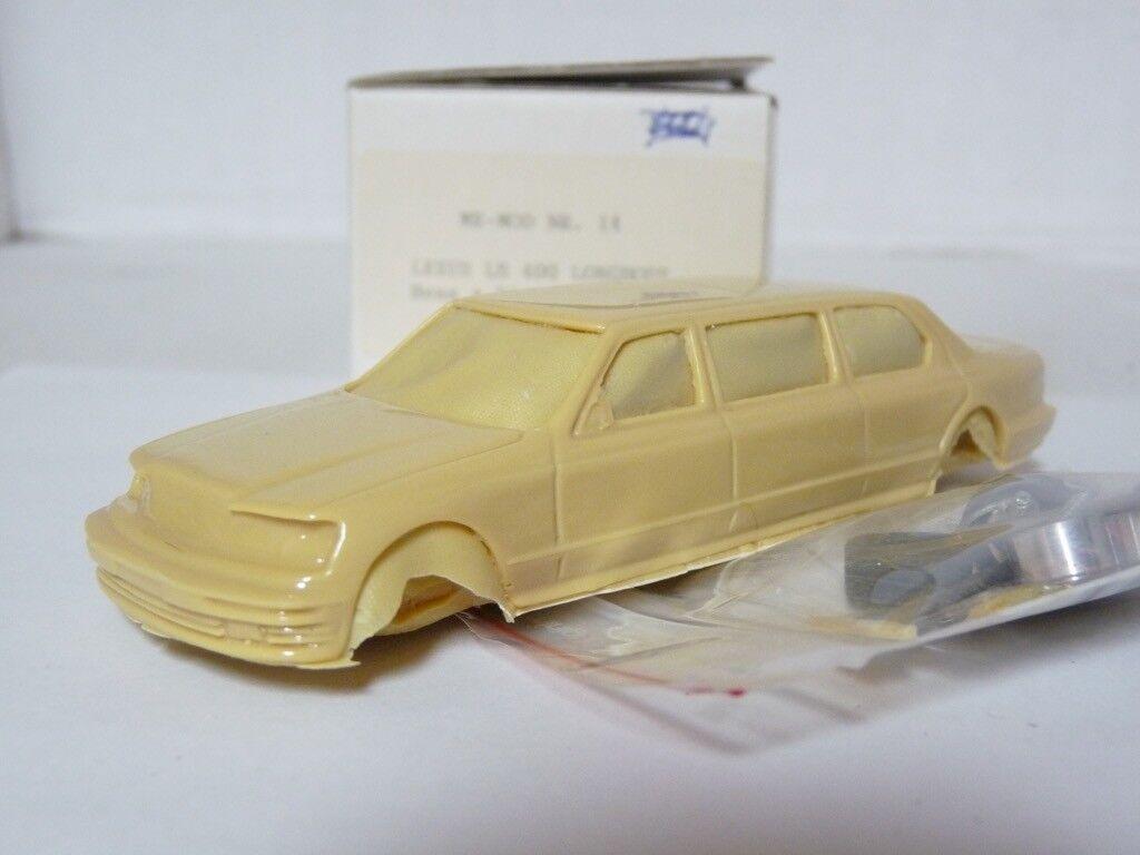 Me-Mod 14 1 43 1992 Lexus LS400 Jankel limusina Resina hecho a mano modelo kit de coche