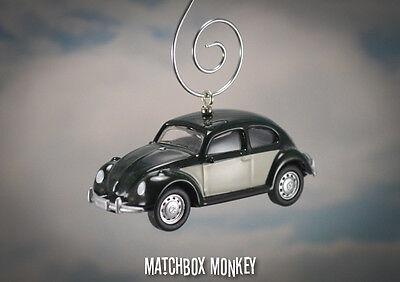 Clic Volkswagen Beetle Christmas Ornament Vw Bug Herbie 1 64 Air Cooled Love Ebay