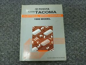 1999 Toyota Tacoma Truck Electrical Wiring Diagram Manual ...