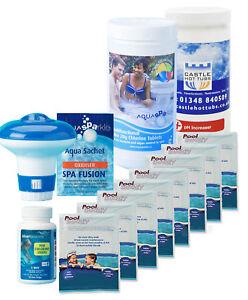 Chemical-Starter-Kit-Multifunctional-Chlorine-Treatment-Pool-Buddy-swimming