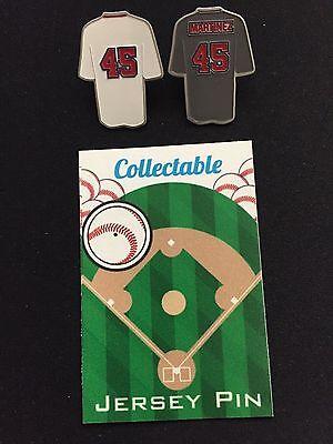 -collectable Rot Sox Nation Ideales Geschenk FüR Alle Gelegenheiten Boston Red Sox Pedro Martinez Reversnadel Set- 2