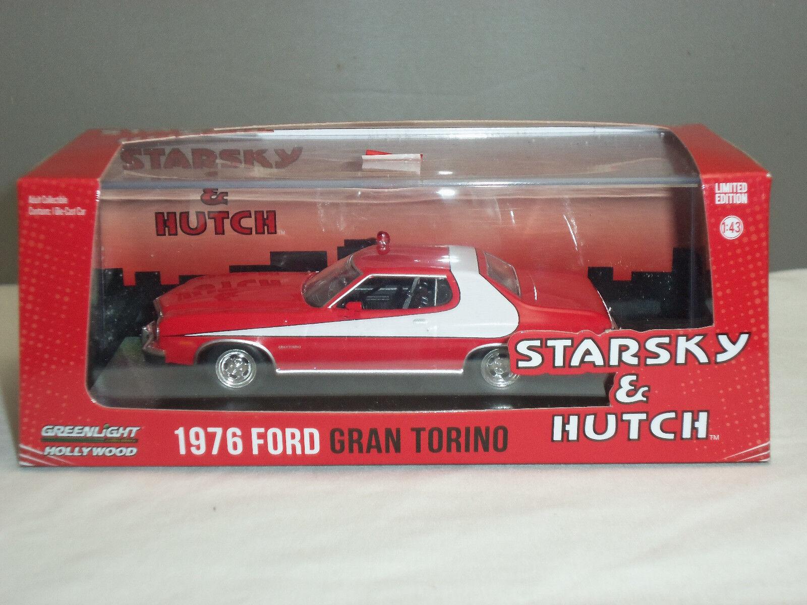 Grünlight 86442 starsky und hutch roten ford gran torino ein diecast modell - auto