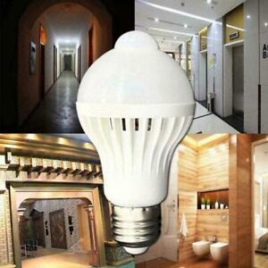 LED-PIR-Motion-Sensor-Auto-Lamp-Bulb-Infrared-Energy-Light-Saving-White-B4O0