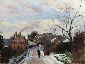 PAINTING-CITYSCAPE-LONDON-PISSARRO-FOX-HILL-NORWOOD-ART-PRINT-POSTER-LAH020