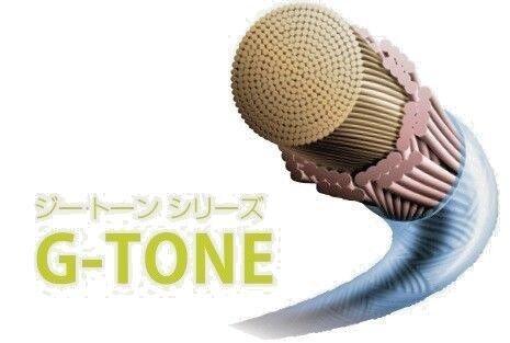 Gosen 9, Badminton string G-Tone 9, Gosen 0,69 mm, Reel 200M, Orange 8d3603